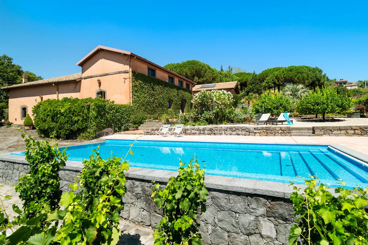 Palmento La Rosa Villa con Piscina in affitto sull'Etna Sicilia - 9
