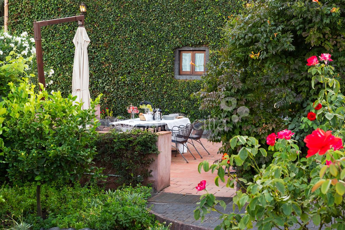 Palmento La Rosa Villa con Piscina in affitto sull'Etna Sicilia - 16