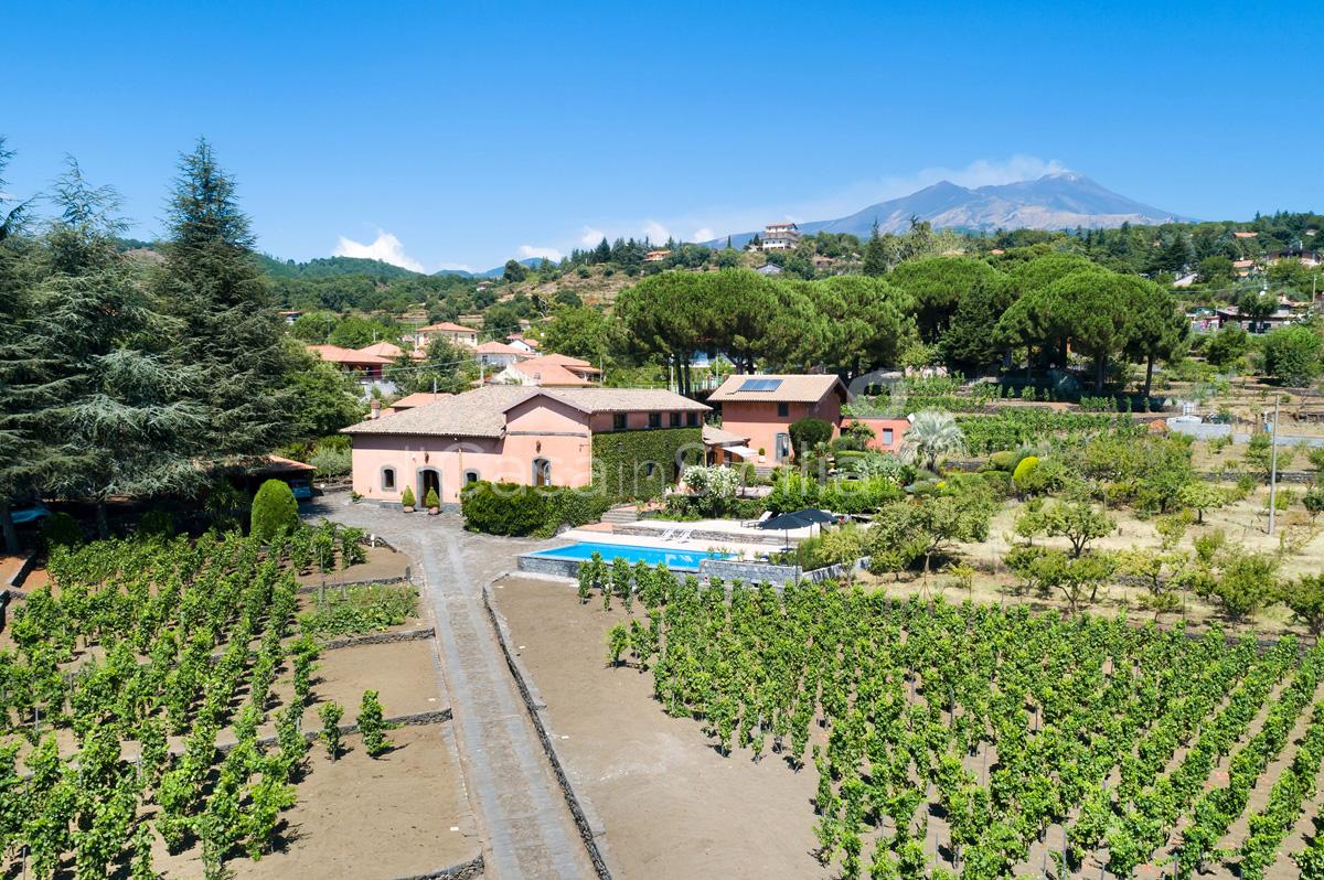 Palmento La Rosa Sicily Villa Rental with Pool Trecastagni Mount Etna - 20