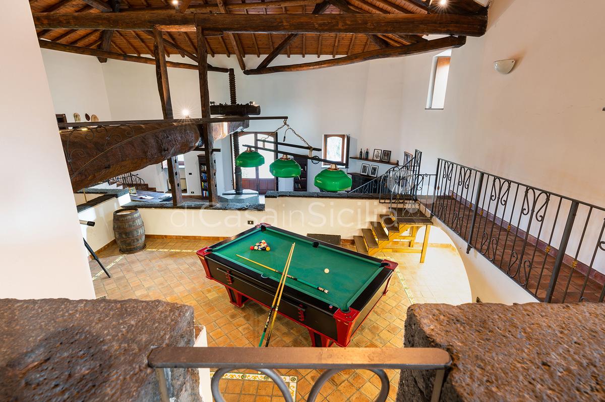 Palmento La Rosa Sicily Villa Rental with Pool Trecastagni Mount Etna - 27