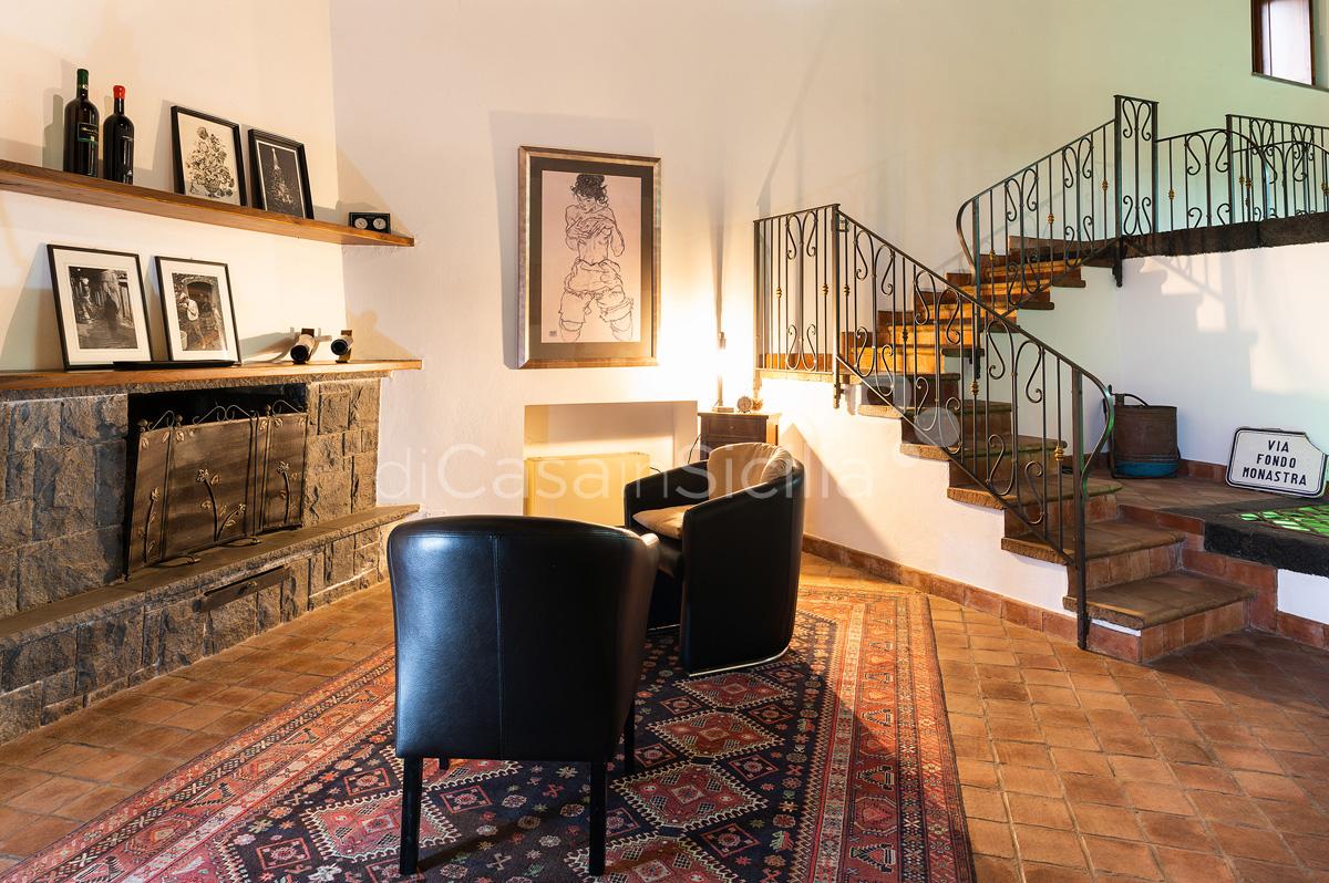 Palmento La Rosa Villa con Piscina in affitto sull'Etna Sicilia - 30