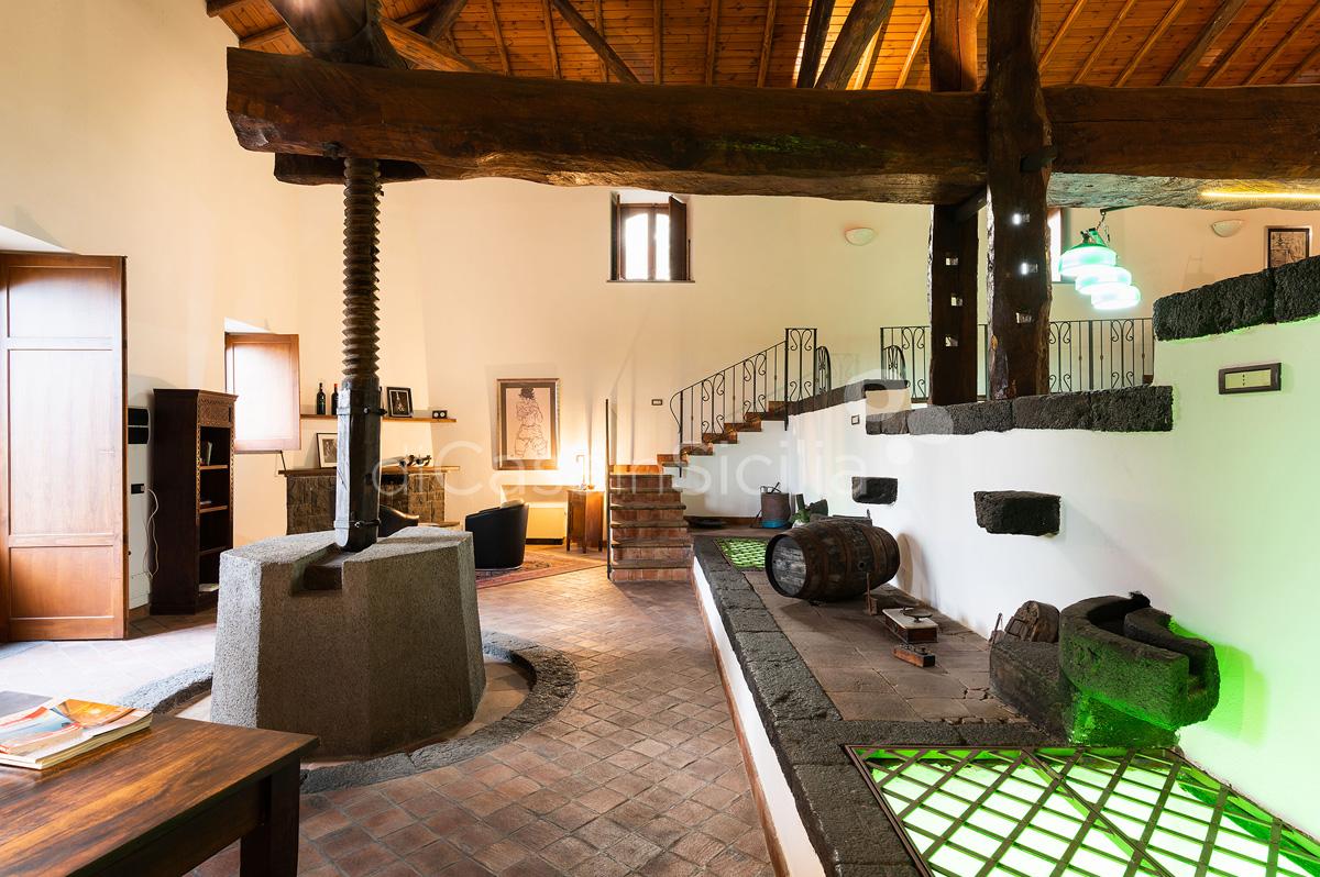 Palmento La Rosa Sicily Villa Rental with Pool Trecastagni Mount Etna - 31