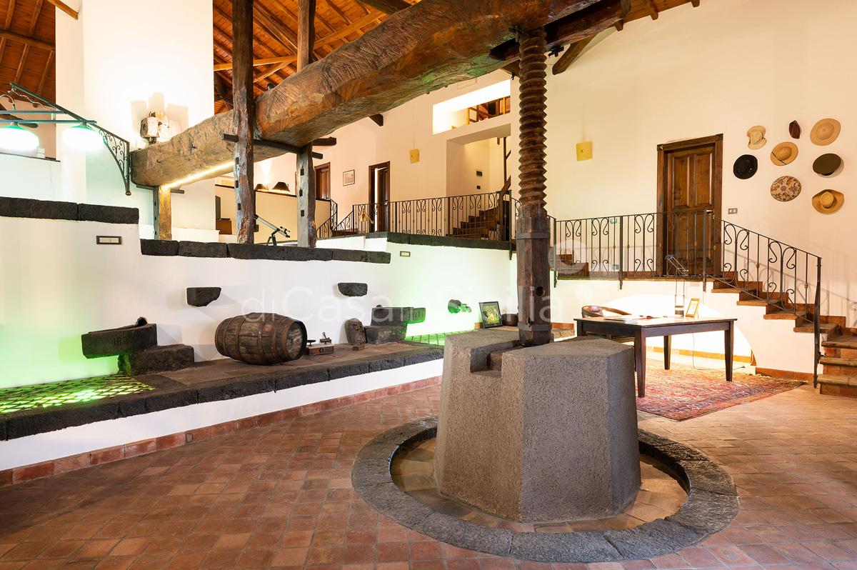 Palmento La Rosa Villa con Piscina in affitto sull'Etna Sicilia - 32