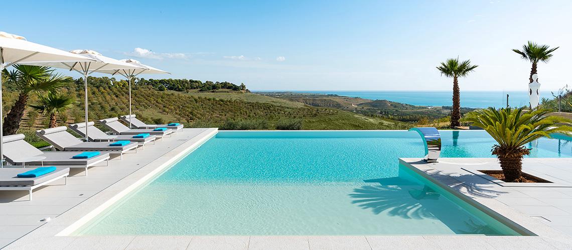Camemi Villa di Lusso Vista Mare con Piscina affitto Agrigento Sicilia - 60