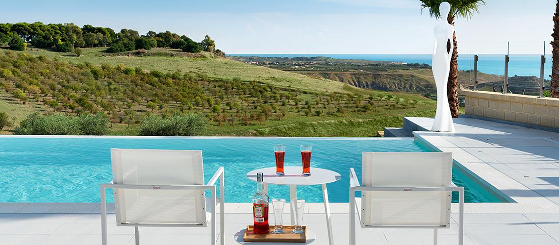 Camemi Villa di Lusso Vista Mare con Piscina affitto Agrigento Sicilia - 61