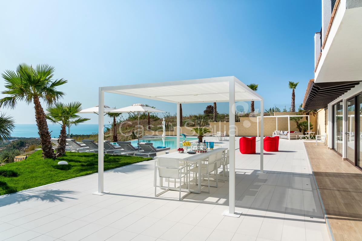 Camemi Villa di Lusso Vista Mare con Piscina affitto Agrigento Sicilia - 10