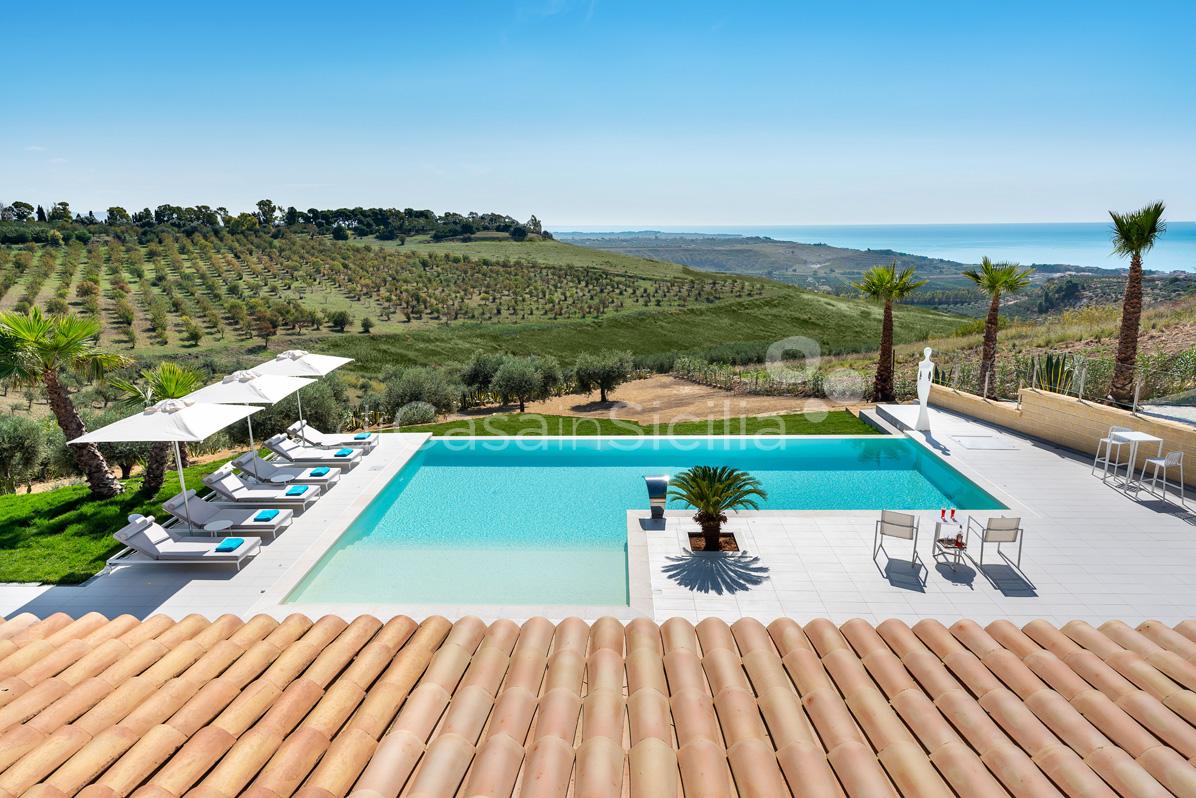 Camemi Villa di Lusso Vista Mare con Piscina affitto Agrigento Sicilia - 17