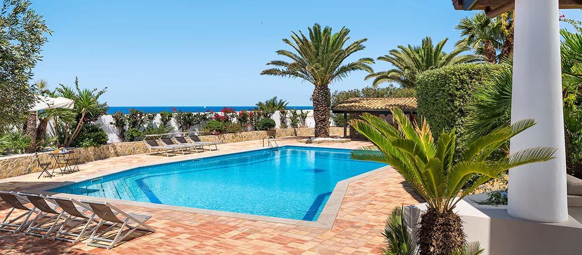 Cala Mancina Villa a Mare con Piscina affitto San Vito Lo Capo Sicilia - 0