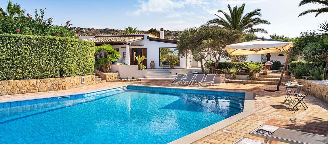 Cala Mancina Villa a Mare con Piscina affitto San Vito Lo Capo Sicilia - 1