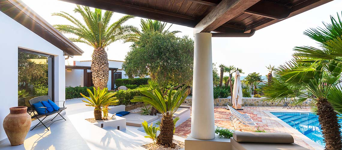 Cala Mancina Villa a Mare con Piscina affitto San Vito Lo Capo Sicilia - 2