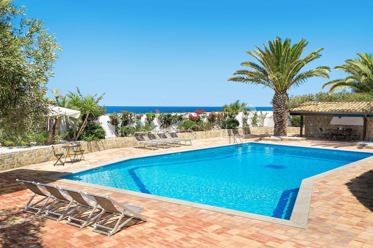 Cala Mancina Villa a Mare con Piscina affitto San Vito Lo Capo Sicilia - 10