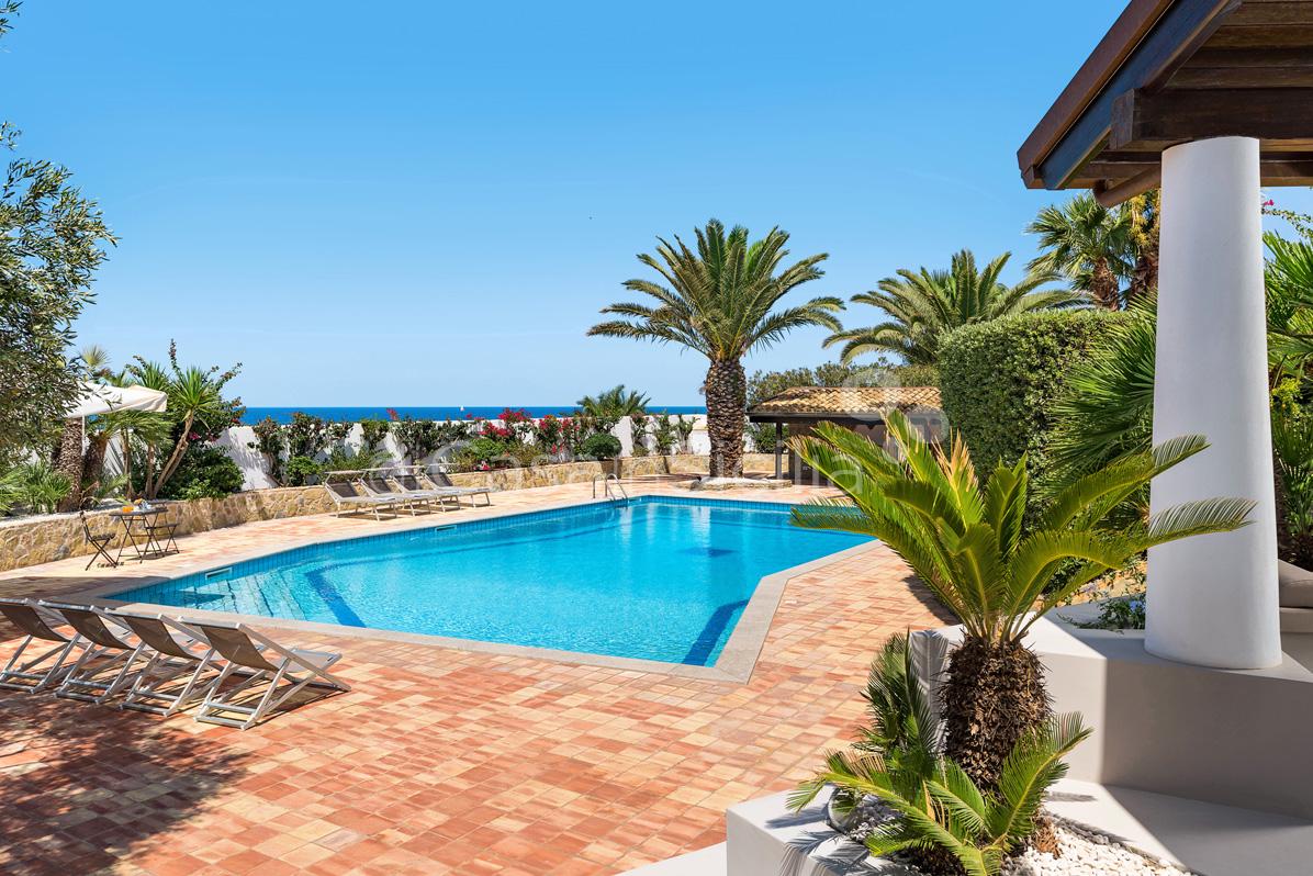 Cala Mancina Villa a Mare con Piscina affitto San Vito Lo Capo Sicilia - 12