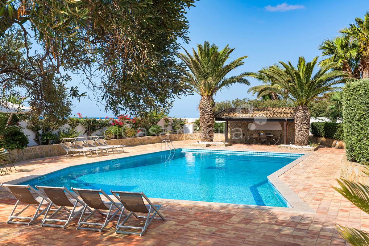 Cala Mancina Villa a Mare con Piscina affitto San Vito Lo Capo Sicilia - 13
