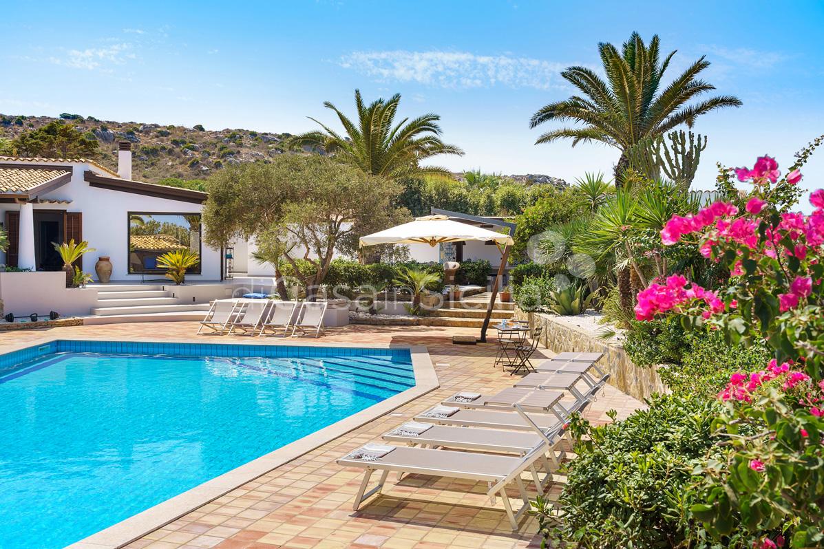 Cala Mancina Villa a Mare con Piscina affitto San Vito Lo Capo Sicilia - 17