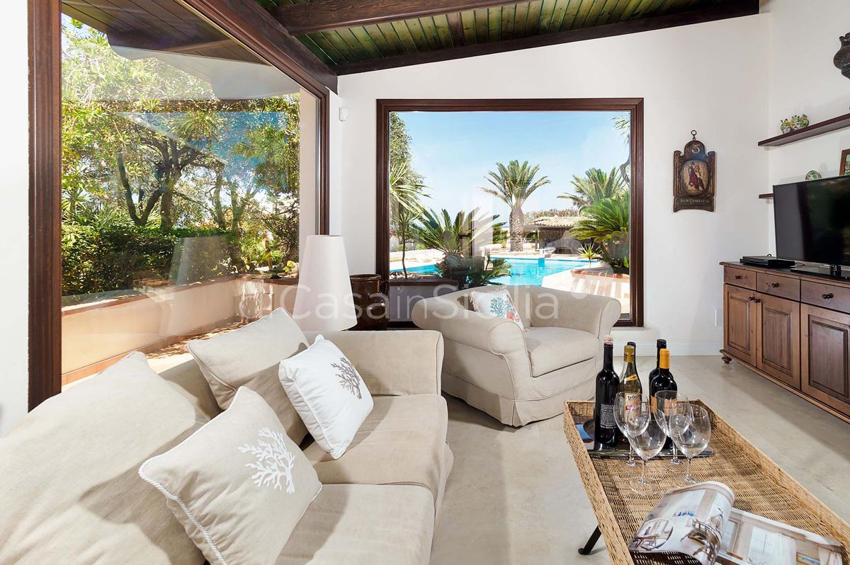 Cala Mancina Villa a Mare con Piscina affitto San Vito Lo Capo Sicilia - 36