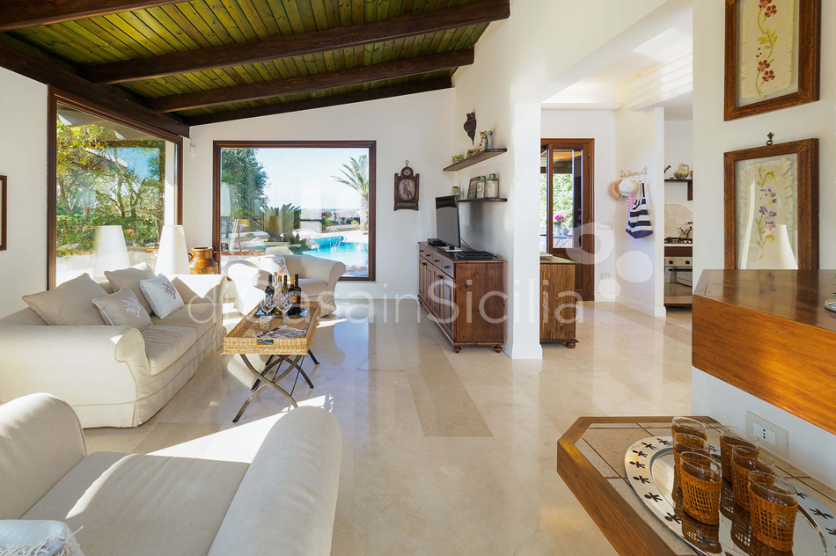 Cala Mancina Villa a Mare con Piscina affitto San Vito Lo Capo Sicilia - 38