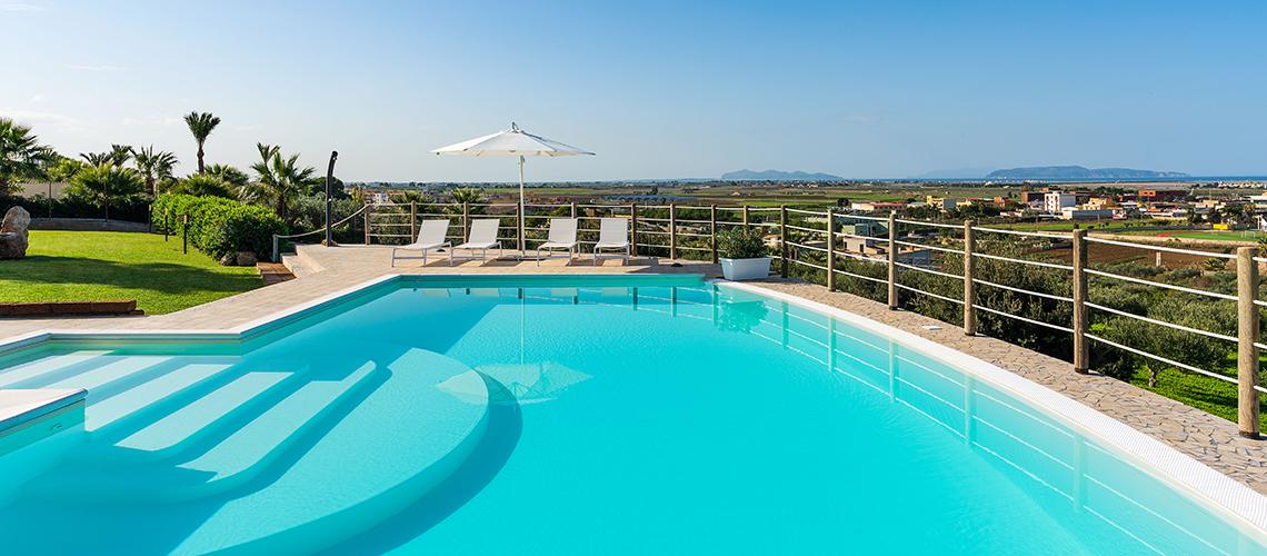 Villa Cielo Villa con Piscina in affitto zona Trapani Sicilia - 0