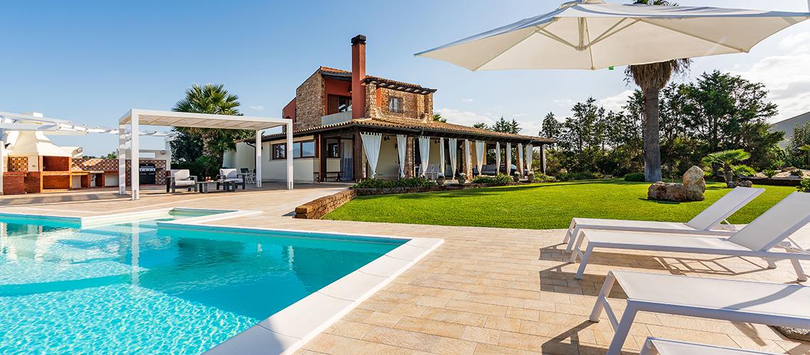 Villa Cielo Villa con Piscina in affitto zona Trapani Sicilia - 1