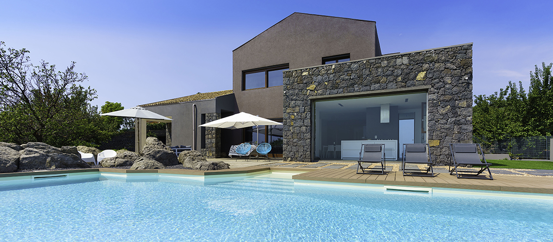 Villa Corinne Villa con Piscina in affitto ad Aci Castello Sicilia - 0