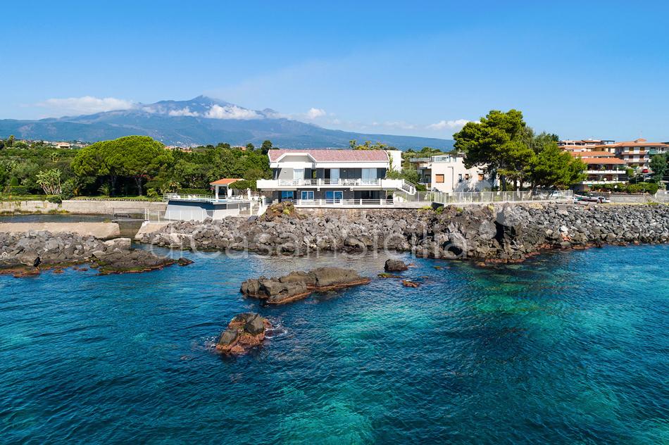 Villa Isabella Villa sul Mare con Piscina in affitto vicino Catania - 0