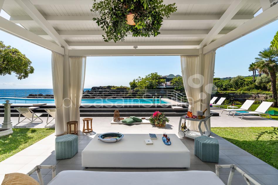 Villa Isabella Villa sul Mare con Piscina in affitto vicino Catania - 5