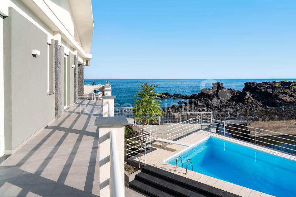 Villa Isabella Villa sul Mare con Piscina in affitto vicino Catania - 10