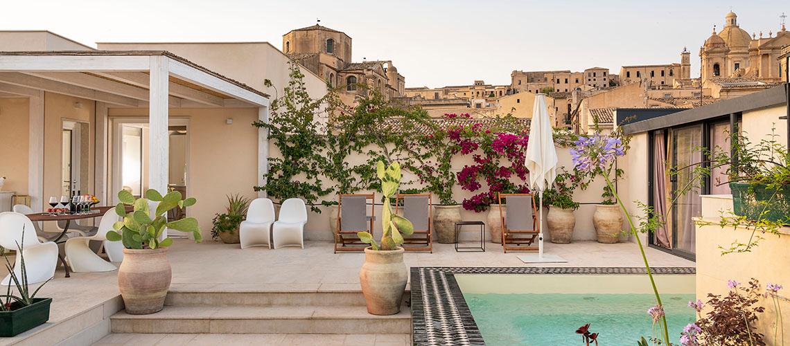 Aurispa lussuoso Appartamento in affitto a Noto centro storico Sicilia - 0