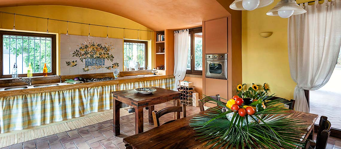 Arangea Familienvilla mit Swimmingpool zur Miete in Marsala Sizilien - 3
