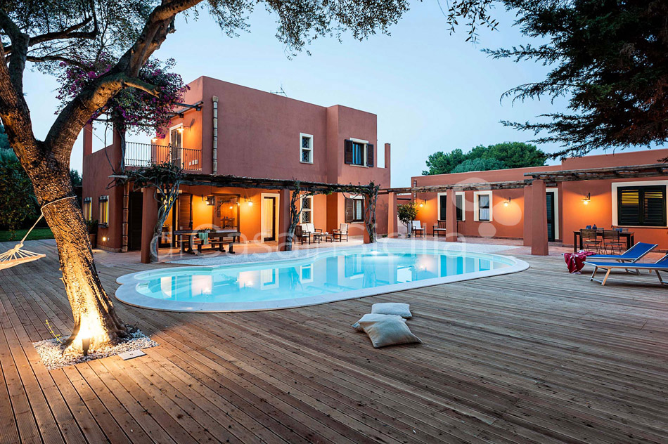 Arangea Family Villa with Pool for rent near Marsala Sicily  - 46