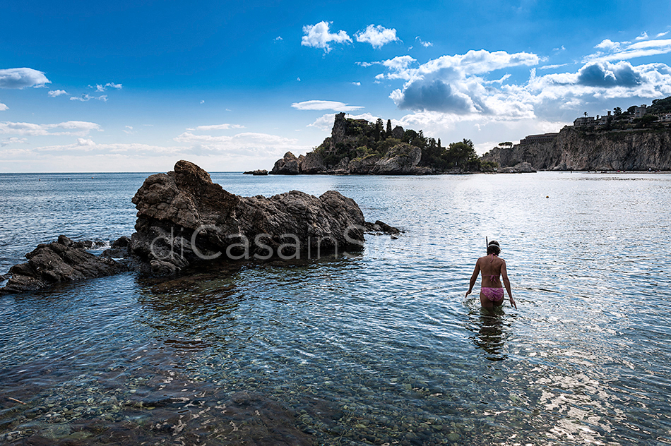 Isola Bella 1 Sicily Luxury Apartment with Pool for rent Taormina - 26