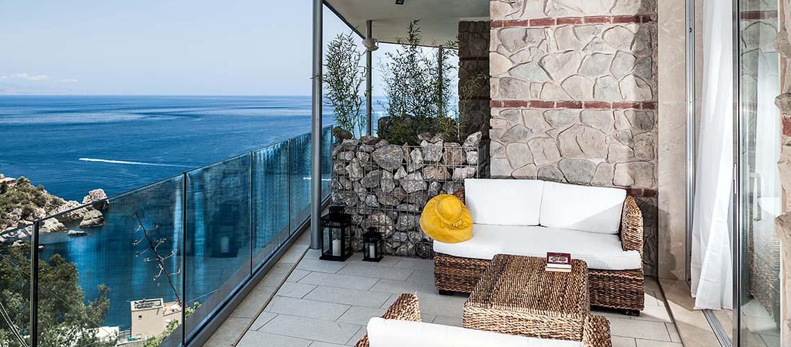 Isola Bella 4 Appartamento di Lusso Vista Mare Taormina Sicilia - 30